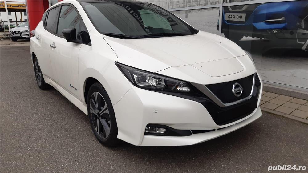 Nissan Leaf Tekna Special, full options, 2019, in garantie