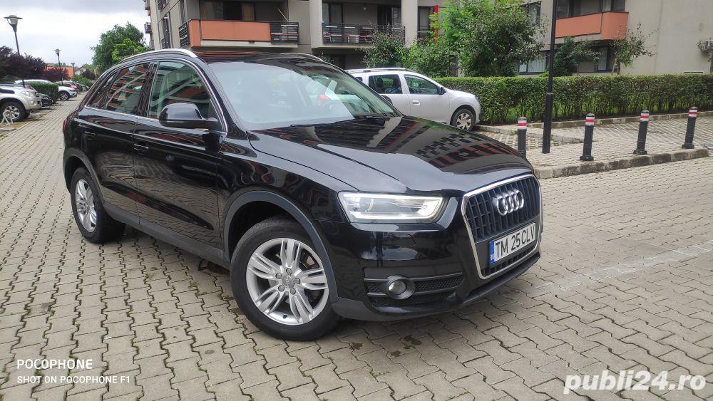 Audi Q3/navi/piele/2.0tdi/143 cp/xenon/led/jante 17/