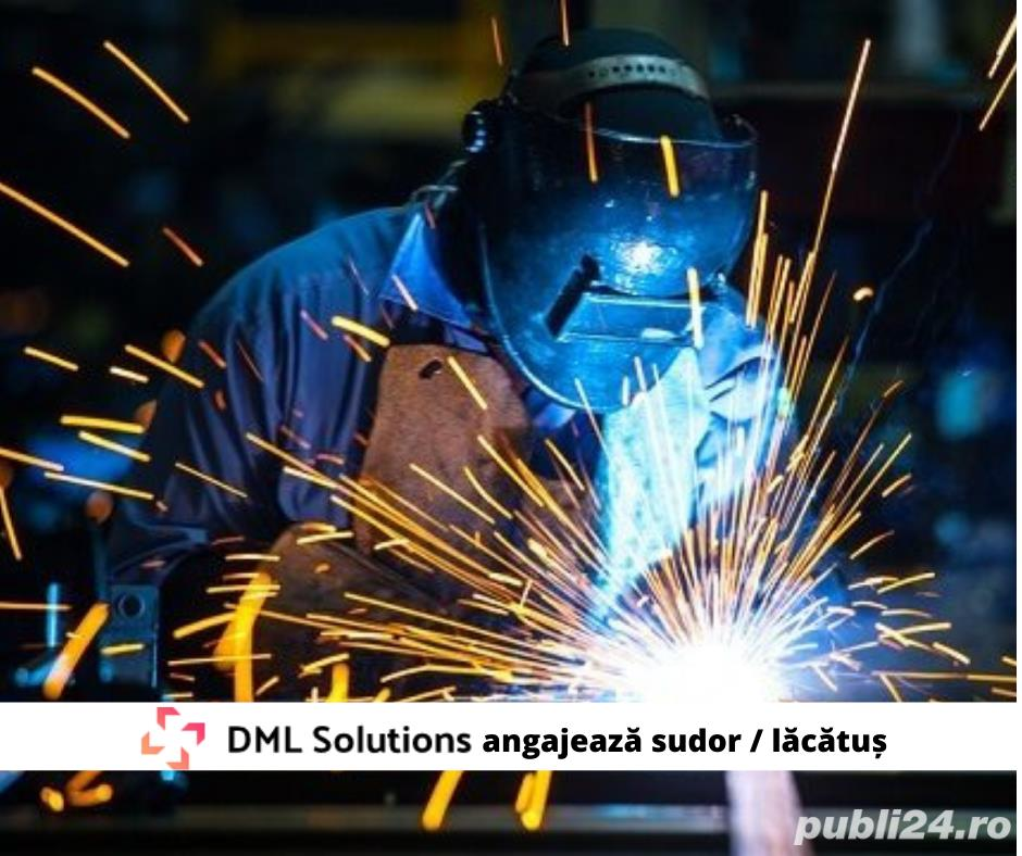 DML Solutions angajeaza sudor / lacatus