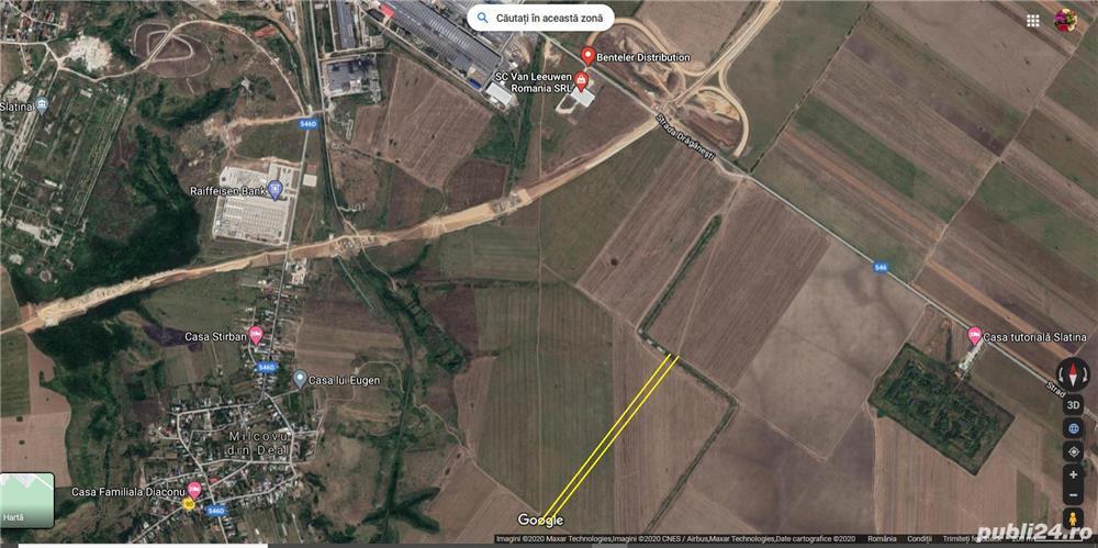 Teren 7500 mp Municipiul Slatina extravilan str Draganesti T38