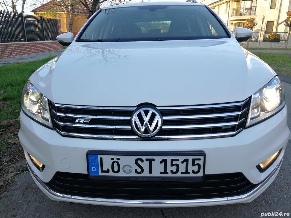VW-PASSAT-DEOSEBIT-R LINE-AN 2014-TRAPA PANORAMICA