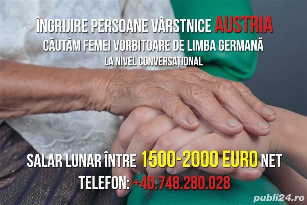 Îngrijire persoane vârstnice Austria