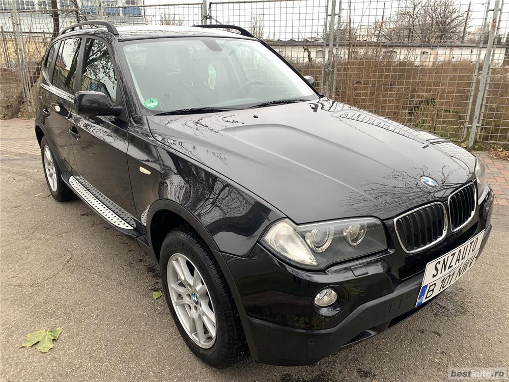BMW X3 Xdrive 2.0 diesel DPF Automatik Navi Klima Piele    7000