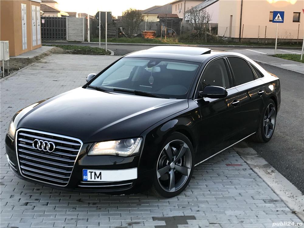 Audi A8 // 2011 // 3.0 TDI Quattro 245 CP // EURO 5 // PROPRIETAR