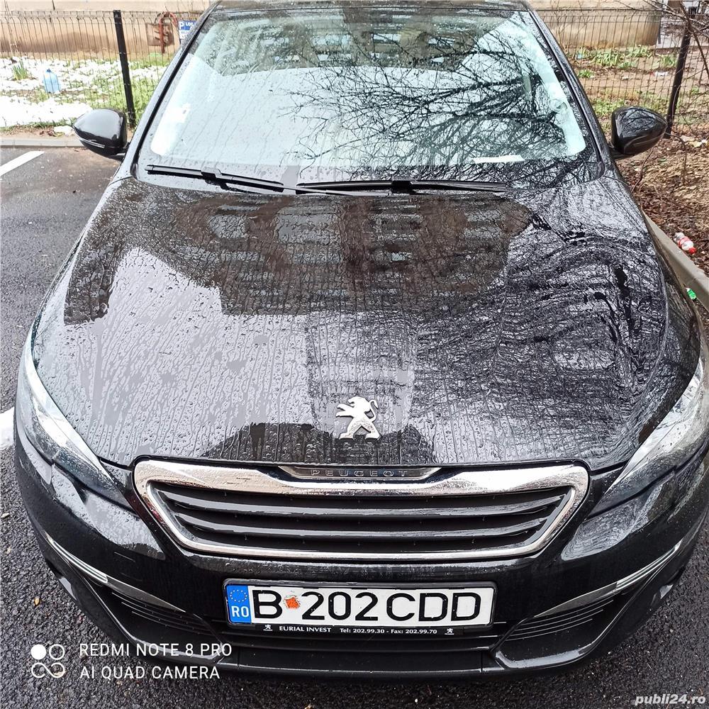 Peugeot 308 1,6 benzina, 125 CP, 2015, 54.600 km, ITP 18.01.2023, Fiscal