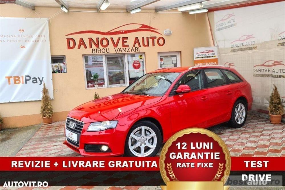 Audi A4 Revizie + Livrare GRATUITE, Garantie 12 Luni, RATE FIXE, 211 cp, 4x4, Euro 5