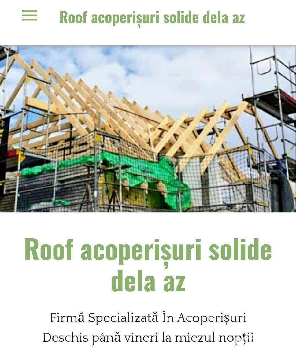 roof acoperișuri solide dela az dela az