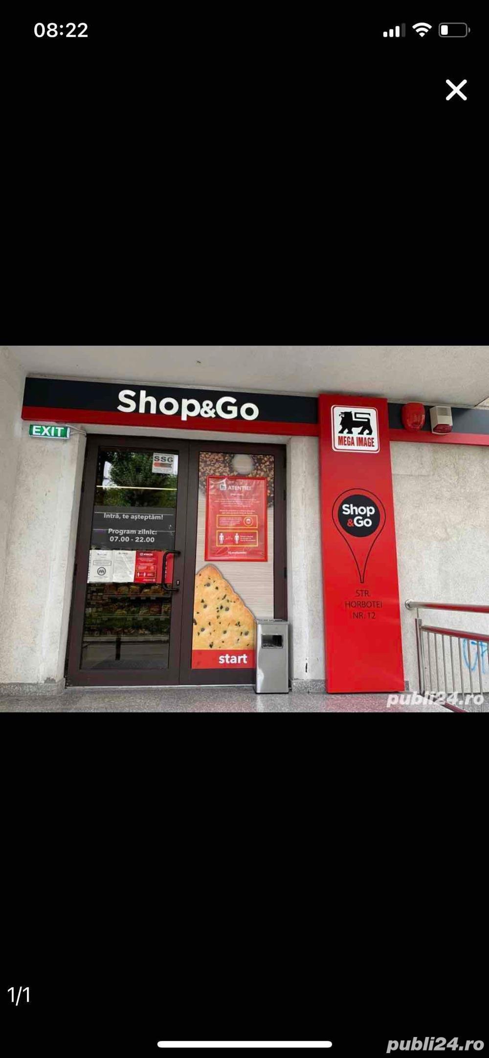 Lucrator conercial Shop&Go Sec. 3, Titan