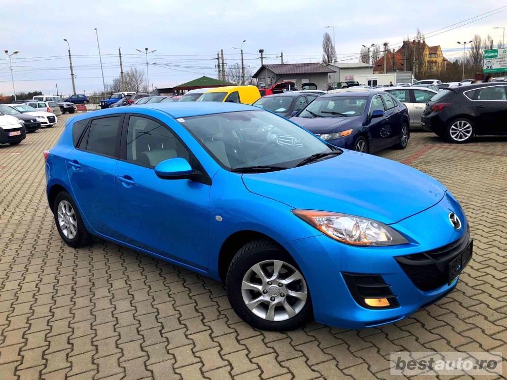 Mazda 3 2009 1.6 Benzina Dublu climatronic Incalzire scaune Recent adusa
