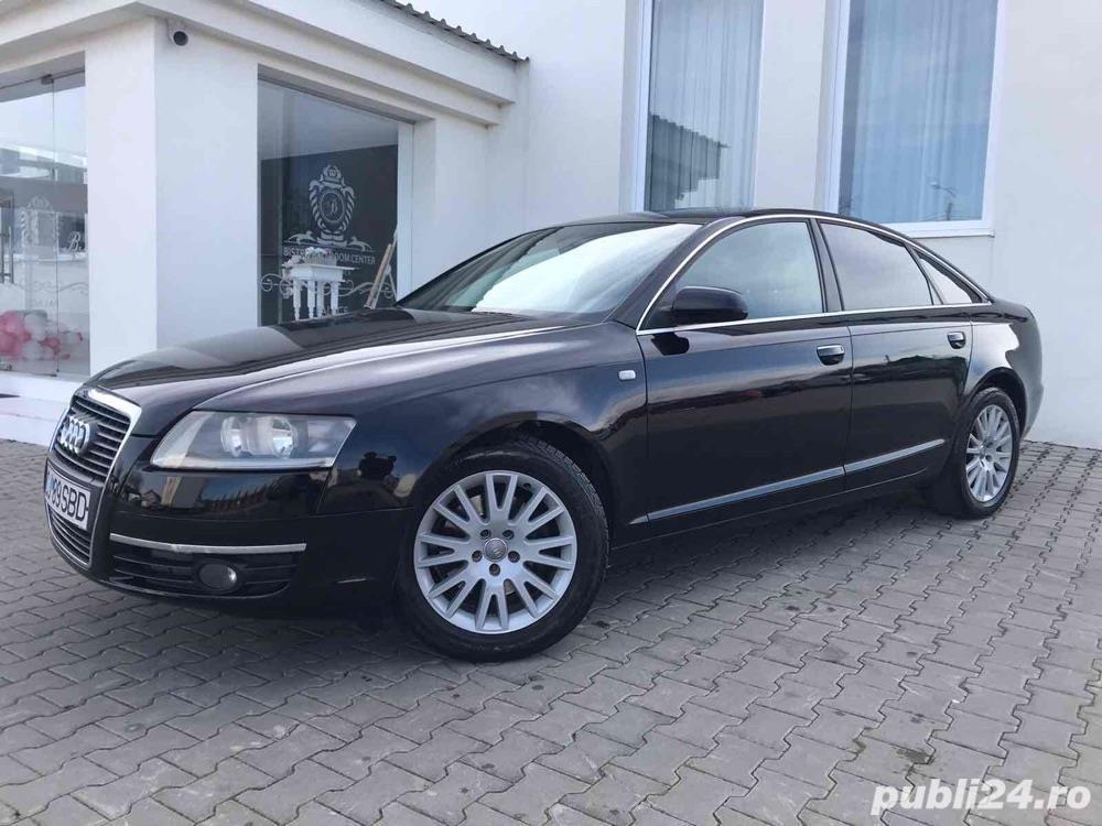Audi A6 2.0 Diesel-automat-piele-navi mare-bose-audio. Audi A6 2007 2.0 S-line.
