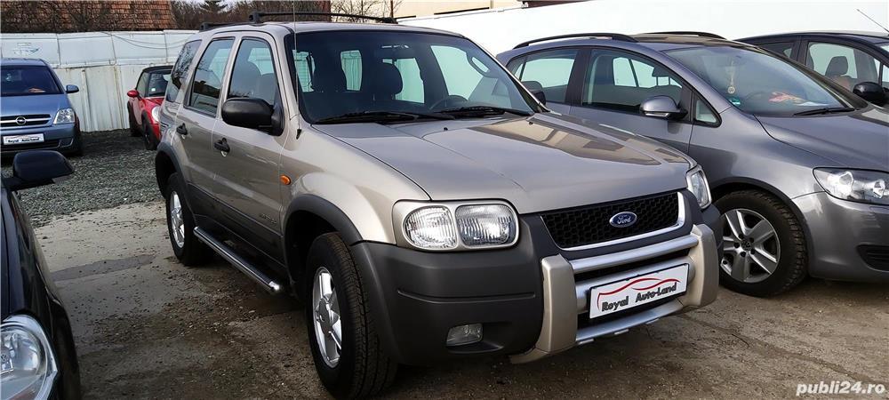 Ford Maverick 2.0 Benzina, 4x4, an 2001, 255000km, 3590 Euro sau RATE FIXE.
