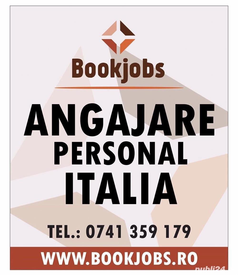 Locuri de munca in Italia in turism hoteluri 2021