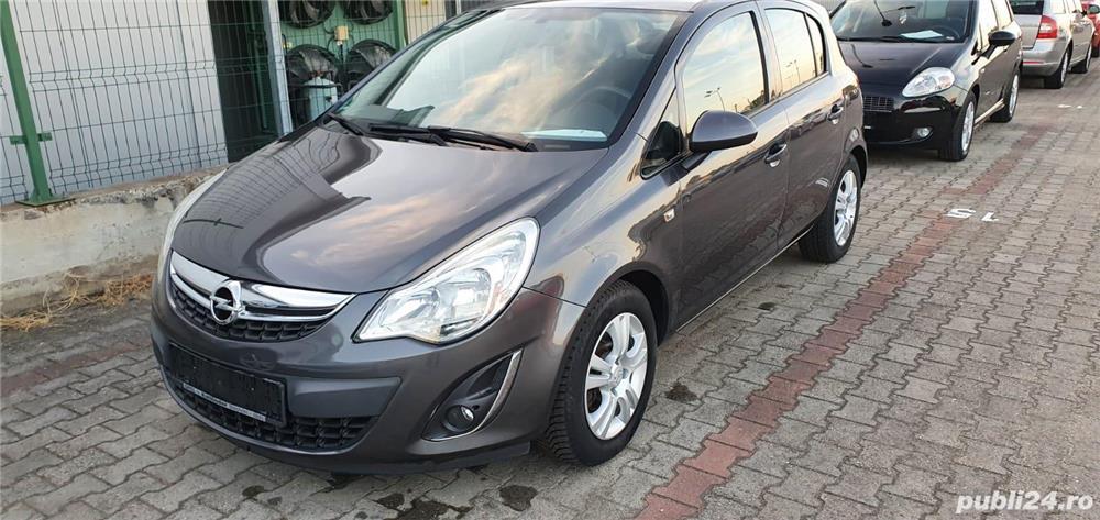 Opel Corsa d 1.3CDTI, 2011, 4 usi, Euro 5, Jante, 4490 Euro sau RATE FIXE.