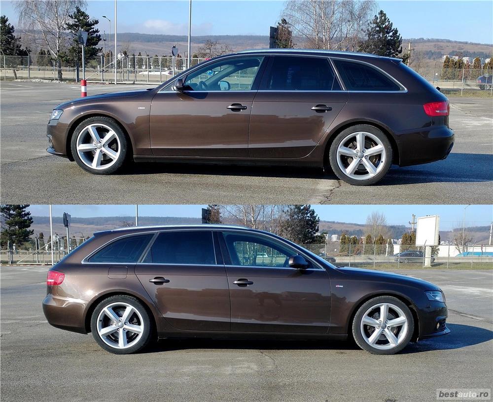 Audi A4 S-line Maro - Superb an 2011  Euro 5  Motor 2.0 TDI 170CP