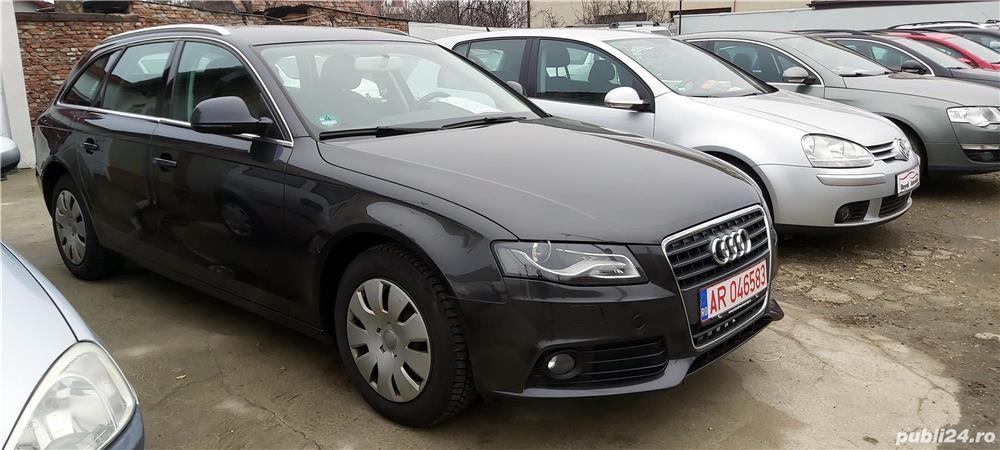 Audi A4 1,8 TFSI, 2009, Euro 5, 155000 km, 6590 Euro sau RATE FIXE