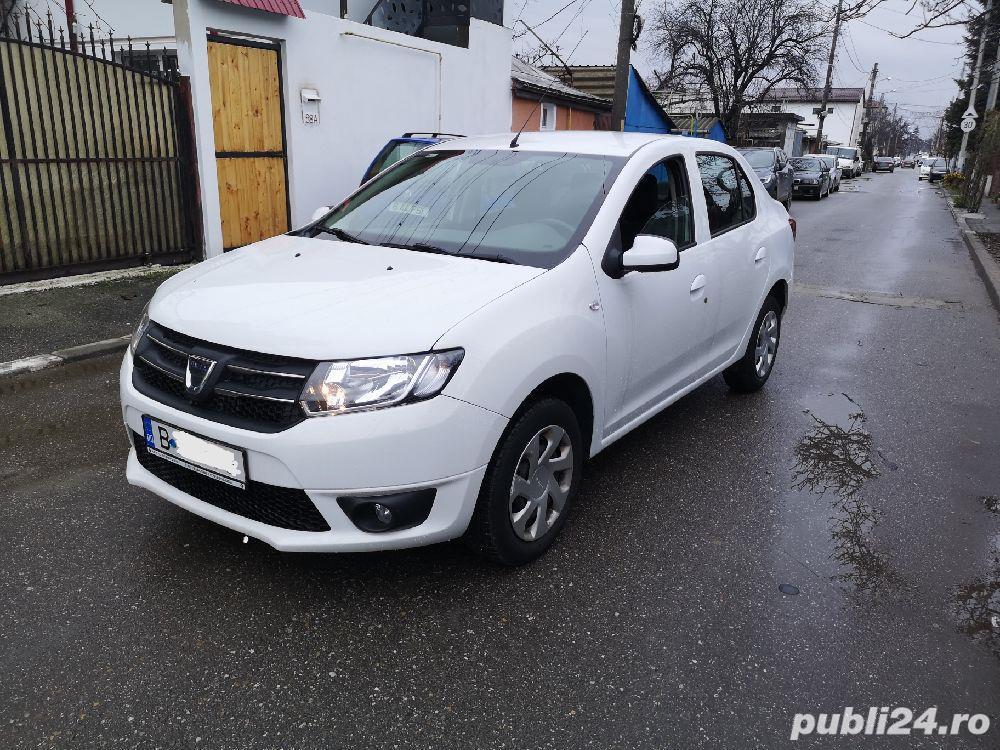 Dacia Logan 2016 benzina aspirat 1.2 Euro6 Laureate 75.000 km carte service tva  deductibil