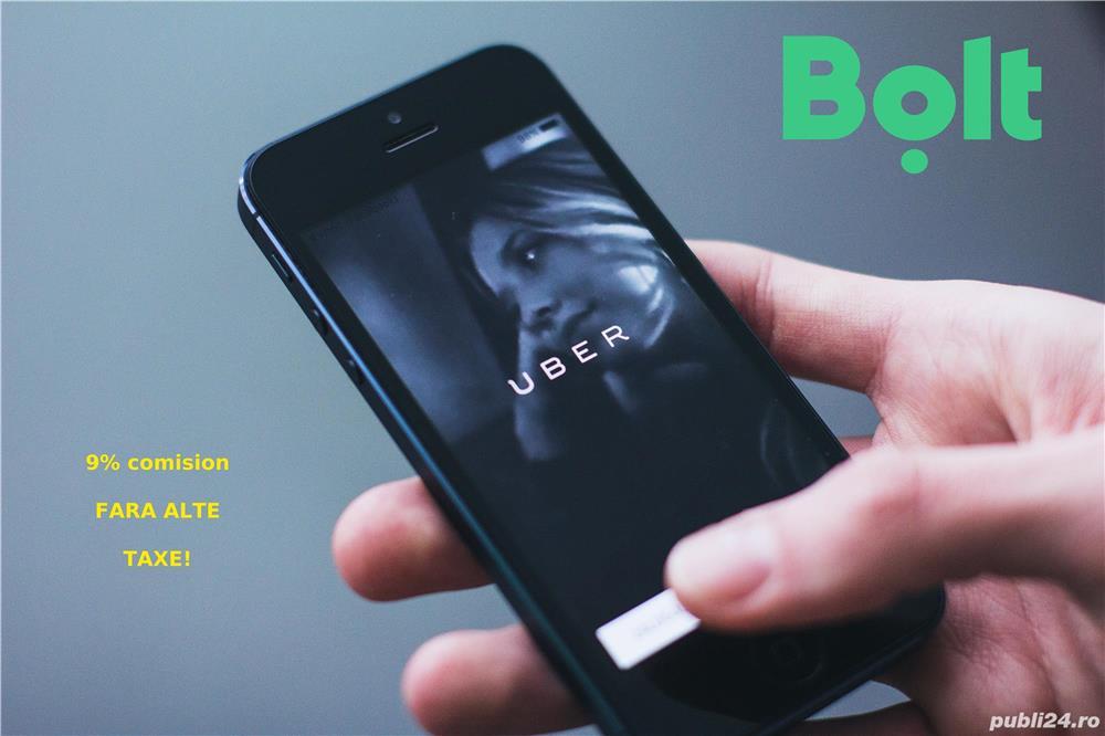 Cautam șoferi cu mașina personală pentru aplicațiile Uber si Bolt in Timisoara
