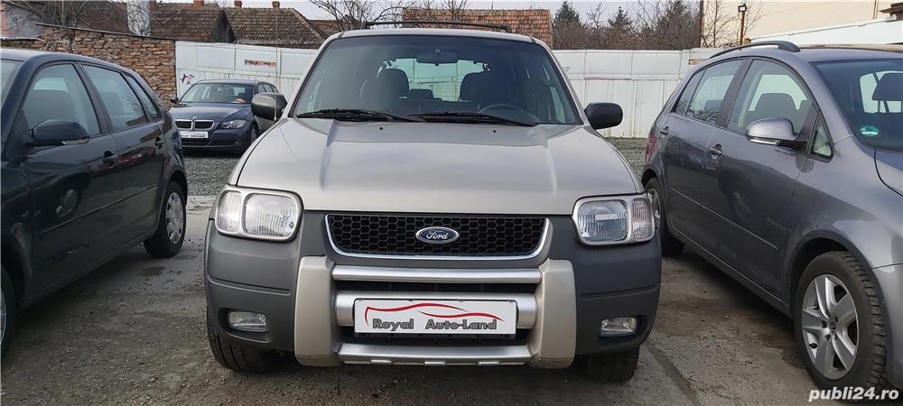 Ford Maverick 2.0 Benzina, 4x4, an 2001, 245000km, 3590 Euro sau RATE FIXE