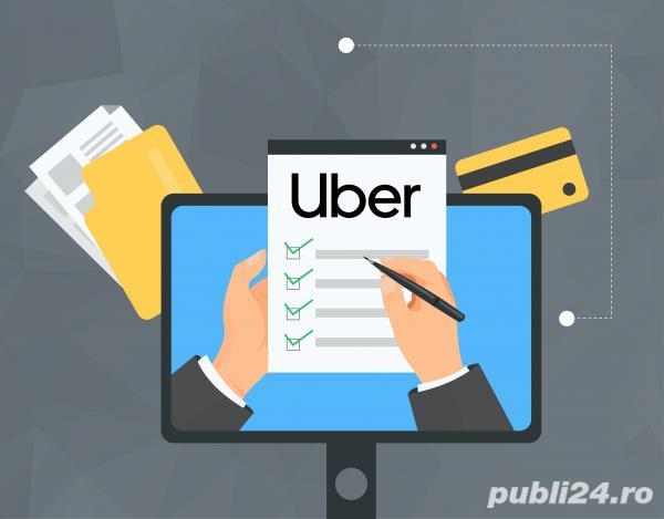Firma avizata UBER/BOLT 8% Comision, Facem angajari