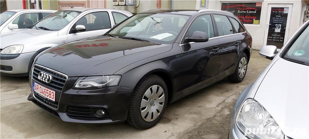 Audi A4 1,8TFSI, 2009, Euro 5, 155000 km, 6590 Euro sau RATE FIXE
