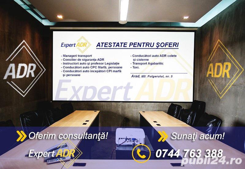 Atestate Soferi organizeaza cursuri Arad