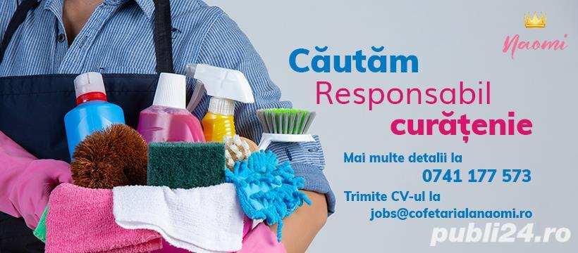 Responsabil curățenie