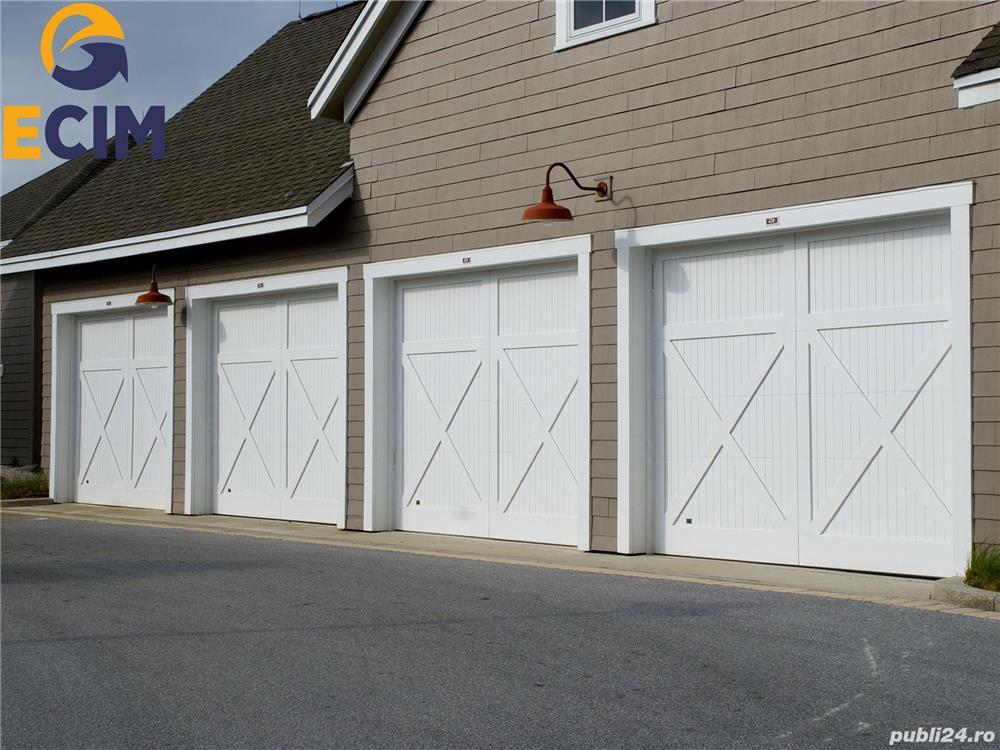 Montator uși de garaj