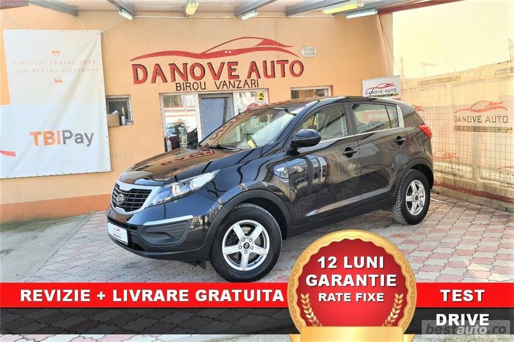 Kia Sportage Revizie + Livrare GRATUITE, Garantie 12 Luni, RATE FIXE, 1700 Diesel, Euro 5, An 2011