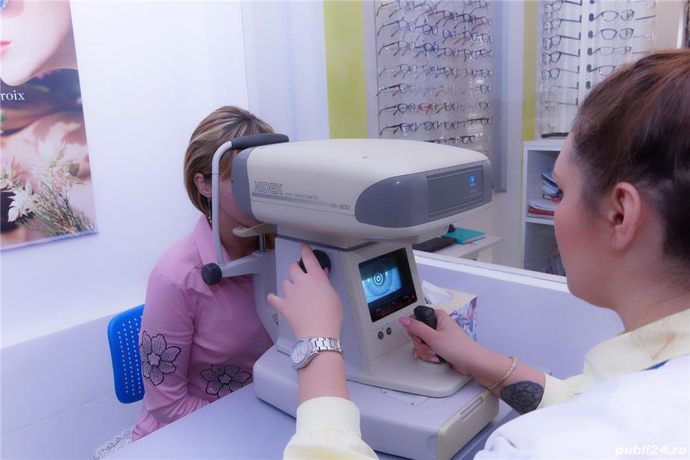 Angajam optometrist cu experienta pt.optica mobila