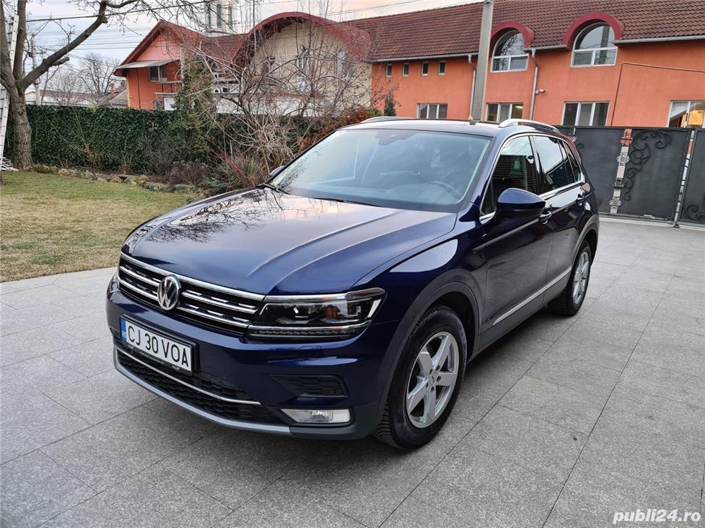 VW Tiguan, 4Motion, DSG, 2017, 136.000 km, 2.0 TDI, 150 cp