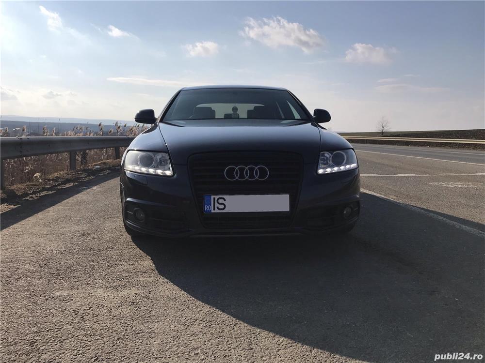 Audi A6 S-line 2.0 TDI Bi-xenon, navi, piele, volan dreapta.