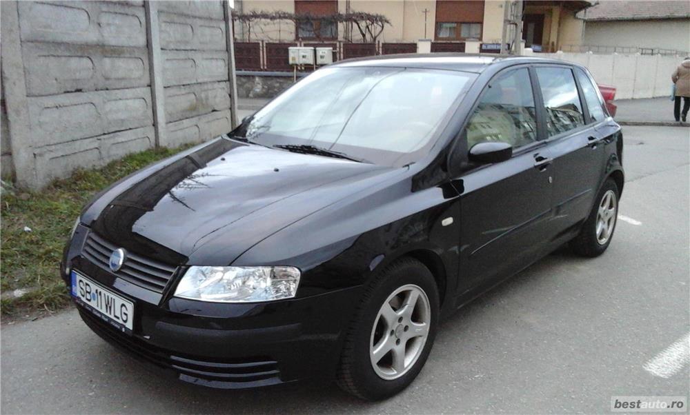 Fiat Stilo Jtd ,negru diesel 1900cm, 59kw, 226000km, euro3 1500 euro,