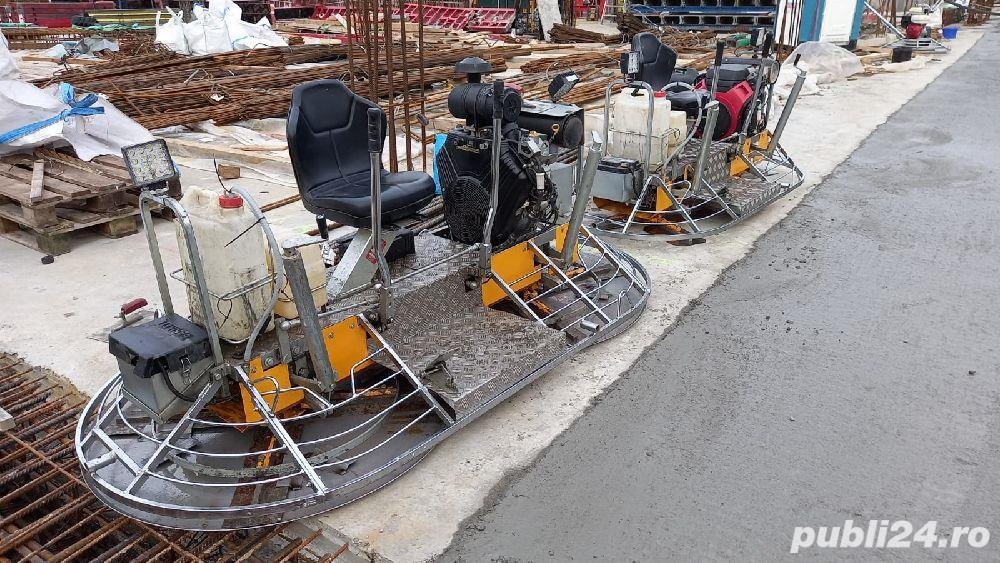 Meseriași finisare beton elicopterizare beton