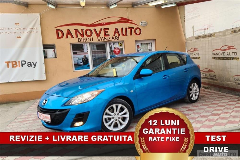 Mazda 3 Revizie + Livrare GRATUITE, Garantie 12 Luni, RATE FIXE, 2200 diesel, 2010, Euro 5