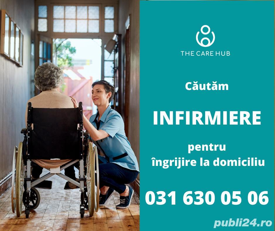 Căutăm infirmieri calificați (Timișoara)