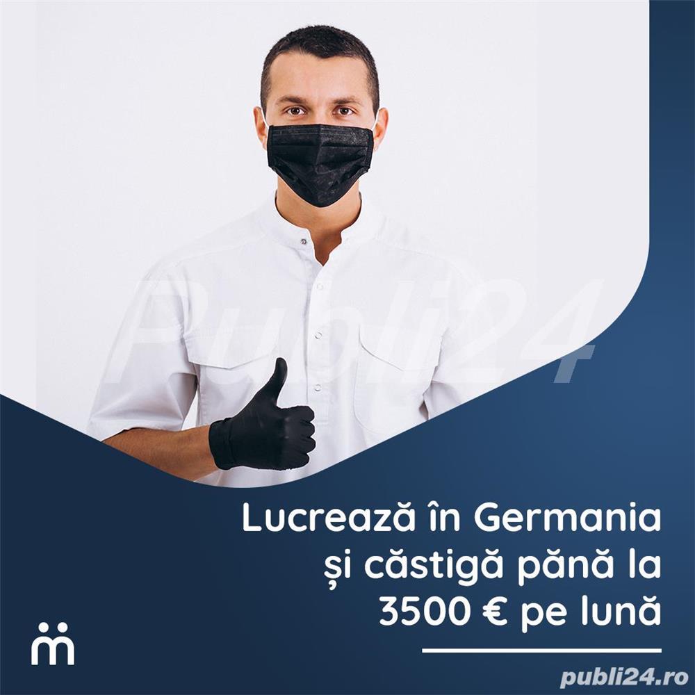 Angajari la centre de testare covid in Germania!