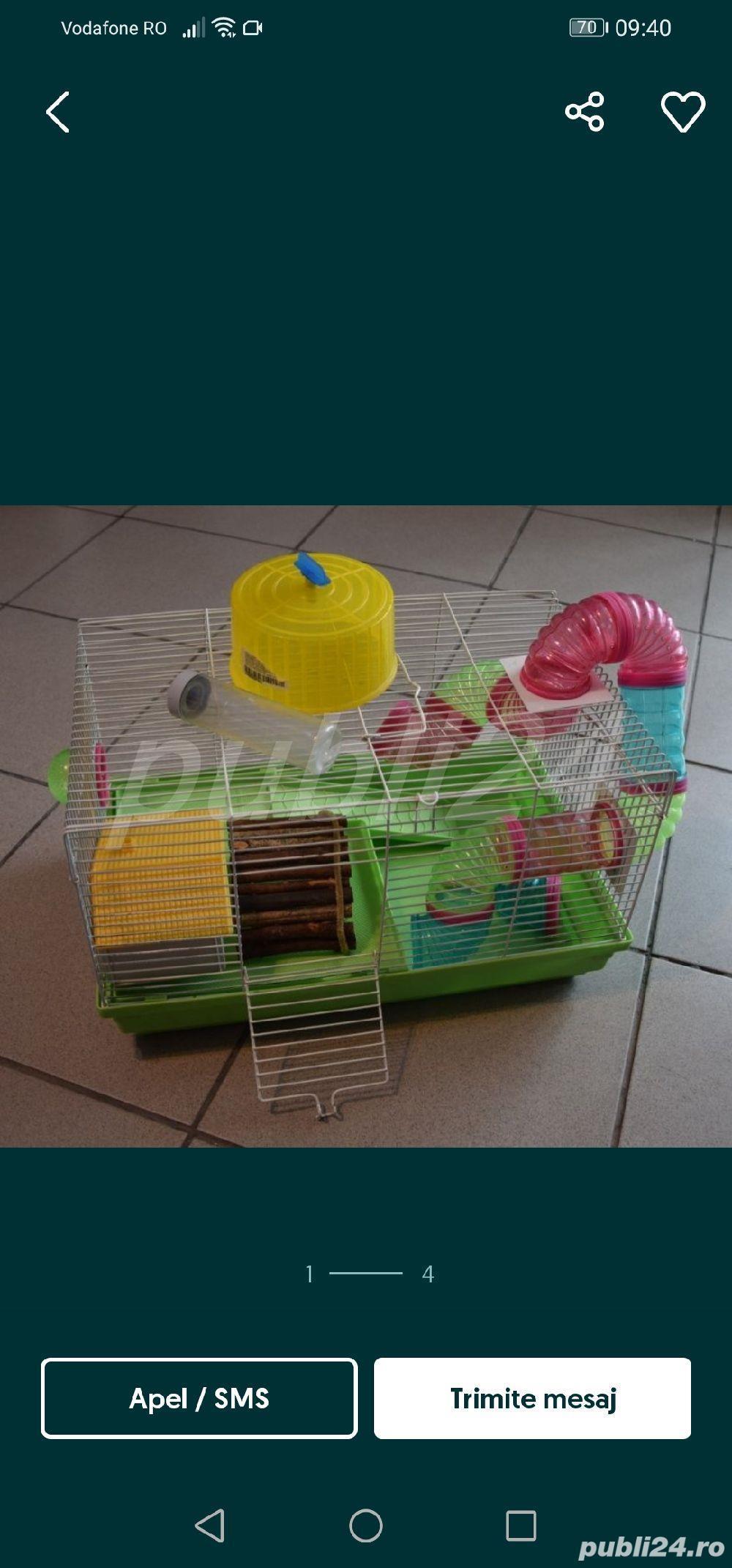 Cușcă hamster, rozatoare