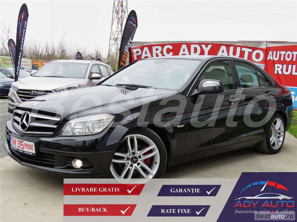Mercedes-benz Clasa C 180 /  RATE FIXE SI EGALE / LIVRARE GRATUITA / GARANTIE / BUY-BACK