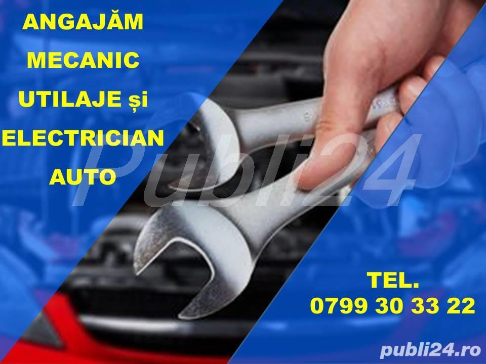 Angajam  Mecanic utilaje / camioane si  Electrician auto