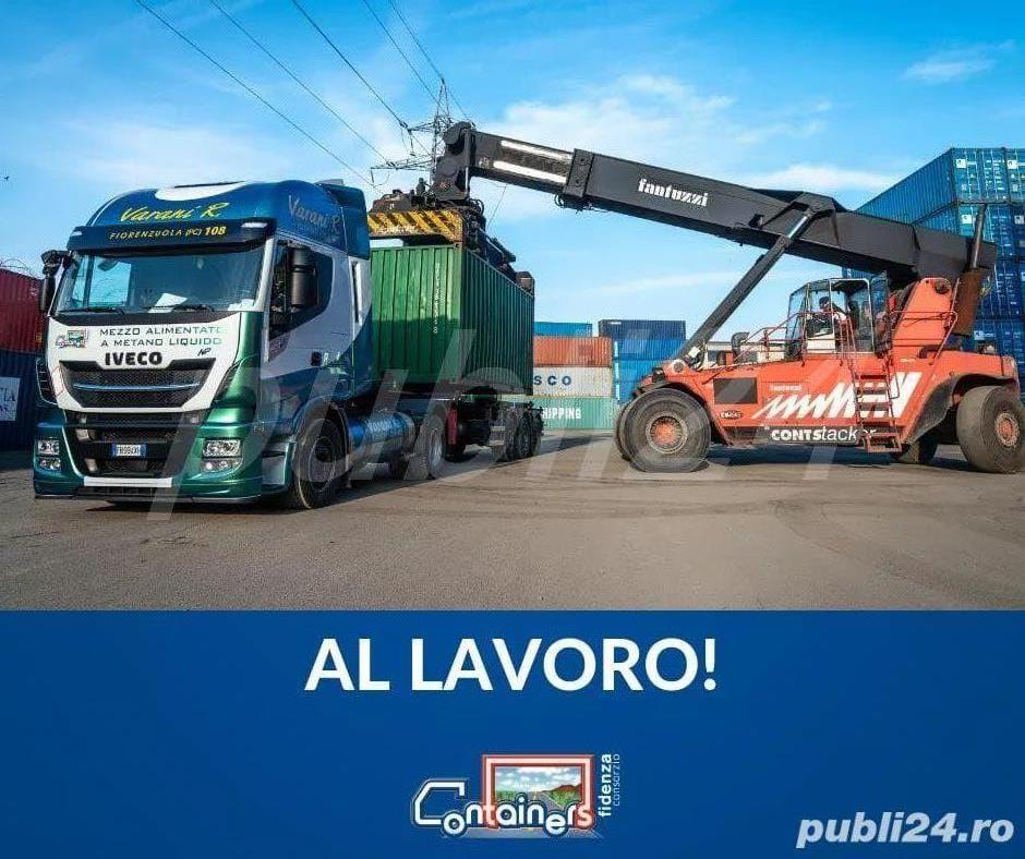 ȘOFER profesionist zona Piacenza... AUTOTREN CONTAINER