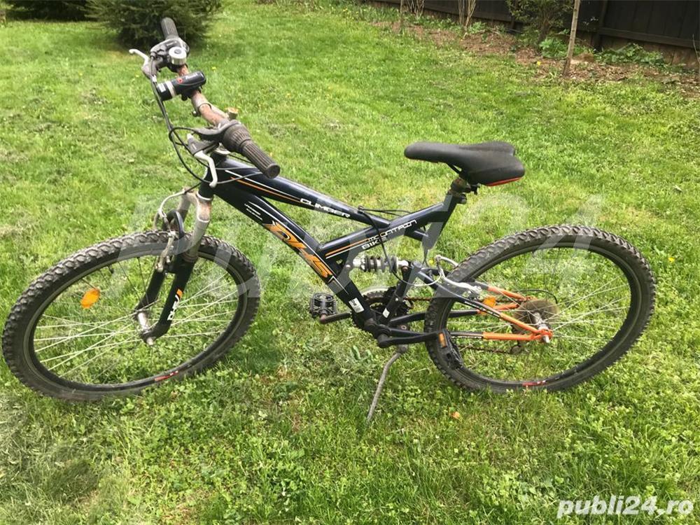 Bicicleta DHL neagra
