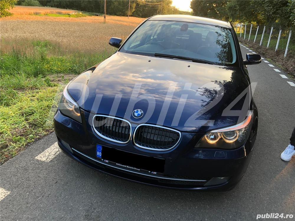BMW 520d 2008 facelift,177cp,automata joystick,piele