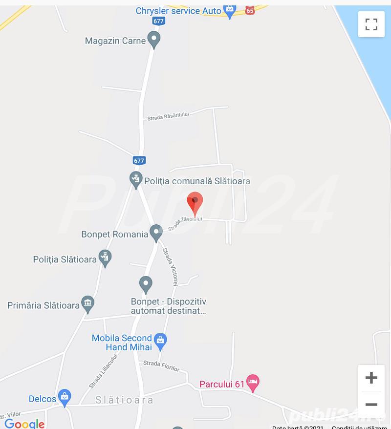 Vand 4250 mp teren in Slatioara, jud Olt, zona Glod, Zăvoiului