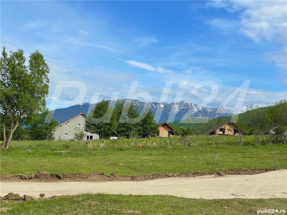 Teren intravilan la munte situat  la 49 km de Sinaia, 34 lm de Predeal, 41km  de Busteni