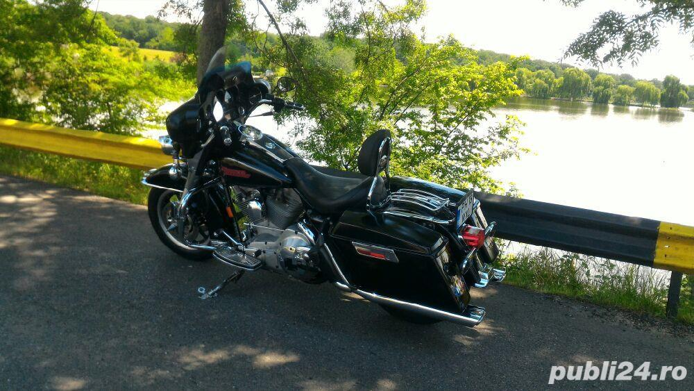 Chopper Harley davidson electra glide