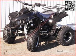 Atv 125cc RENEGADE NITRO J8'' cutie semi-auto 3trepte - imagine 2