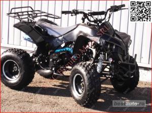 Atv 125cc RENEGADE NITRO J8'' cutie semi-auto 3trepte - imagine 3