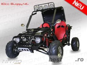 Atv Buggy BEMI Kinroad Sahara 125cc OffRoad - imagine 2