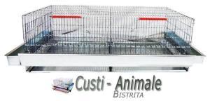 Custi pentru prepelite,pui,gaini,porummbei,iepuri,chinchilla,caini,pisici etc - imagine 2