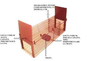 Custi pentru prepelite,pui,gaini,porummbei,iepuri,chinchilla,caini,pisici etc - imagine 4